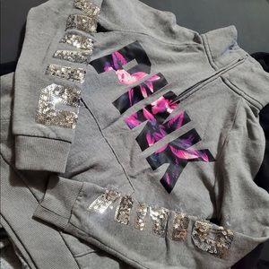 VS PINK Bling pullover